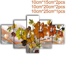 5pcs Abstract Canvas Print Art Painting Wall Background Home Decoration Display