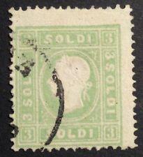 Francobolli italiani usati 3 francobolli