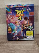 Toy Story 4 Four Blu-ray + Dvd + Digital w/ Slipcover New! ✅