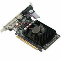 Home Computer For NVIDIA GeForce GT730 2GB DDR3 DVI VGA HDMI PCI-E Graphics Card