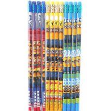 12 Pcs Despicable Me Minions Wood Pencils School Party Favors Authentic Licensed