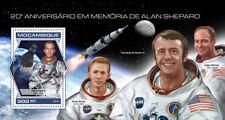 Mozambique 2018 Alan Shepard  space  S201809