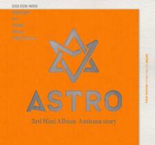 ASTRO 3rd Mini Album [Autumn story] ORANGE CD+P.Book+Post+2p Photocard+ID Photo