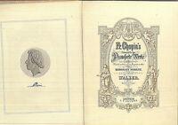 Chopin ~ Walzer - Pracht Ausgabe - gebunden