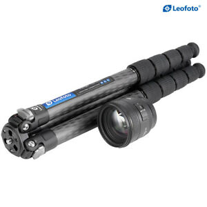 Leofoto LS-285C Professional Tripod Carbon Fiber Center Column DC282C for Camera
