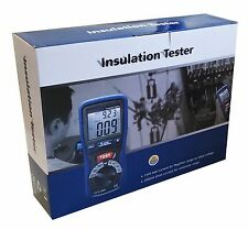 DT-5500 Digital Insulation Tester Megger CAT III 1000V 2000 Mega Ohm Meter NEW !