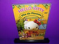 Hello Kitty Vila Da Floresta Stump Village DVD Portuguese Import Brand New B505