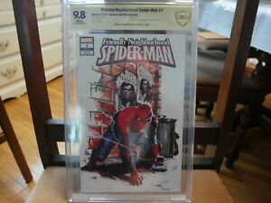 Friendly Neighborhood Spider-Man #1  CBCS 9.8 Sign Series Dell'Otto Variant