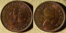 South Africa : 1954  1/2 P  BU   Beautiful  Patina  # 45  IR4342