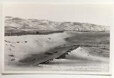 AZ RPPC Postcard Yuma Arizona New Highway and Old Plank Road car Frashers DOPS