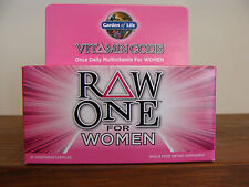 Garden of Life Vitamin Code RAW One For WOMEN  30 Veg Capsules