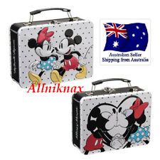 Disney Mickey Mouse and Minnie Mouse Large Tin Tote collection toy box