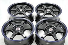 15 Wheels Yaris Lancer Corolla Civic Accord Cobalt Aveo Miata Rims 4x100 4x114.3