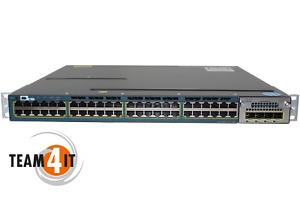 Cisco Catalyst 3560-X Series PoE+ /48Port Switch/4SFP/POE fähig/10/100/1000Mbps