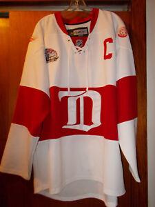 Nicklas Lidstrom - 2009 Winter Classic Reebok Edge Jersey RBK NHL Center Ice CCM