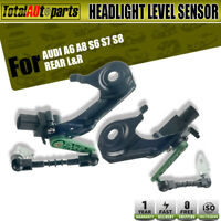 Rear Left and Right Headlight Level Sensor for Audi A6 A8 S6 S7 S8 4H0941309C
