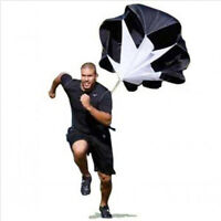 "56"" Sports Speed Training Resistance Parachute Running Chute Track Colors"