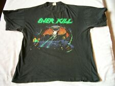 OVERKILL – ultra rare original 1988 UNDER THE INFLUENCE T-Shirt!! thrash metal