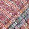 Cotton Fabric by FQ Vintage Paisley & Retro Floral Stripe Dress Quilt Craft VK69