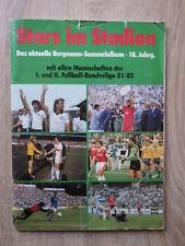 No PANINI Album BERGMANN Stars Im Stadion 1981-1982 81/82 Bundesliga FOOTBALL d