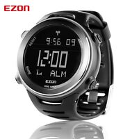 EZON Digital Sport Armbanduhr Herren außen Freizeit Laufuhr 5ATM wasserdicht