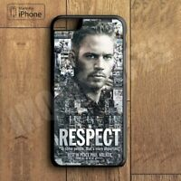 Paul Walker Respect IPhone 5 5S 6 6S 6Plus 6SPlus 7 7Plus 8 8plus Case