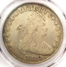 1800 Draped Bust Silver Dollar $1 - Certified PCGS Fine Details - Rare Coin!