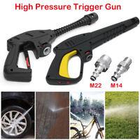 Hochdruck Pistole Verstellbarer M14/M22 Schlauchanschluss für Hochdruckreiniger