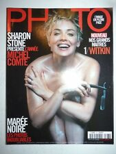PHOTO FRENCH MAGAZINE #367 mars 2000 Sharon Stone