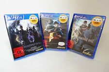 Resident Evil 4, 5, 6 Bundle Set - UNCUT - dt. Handelsversion - PS4 *nagelneu*
