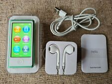 Apple iPod nano 7th Generation Green (16GB) with accessories