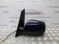 GENUINE 2003 TOYOTA AVENSIS VERSO BLUE N/S NEARSIDE LEFT DOOR WING MIRROR