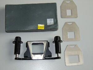 Pentacon Filmkassette mit 3 Metalmaske für Filmprojektor Diaprojektor Original V