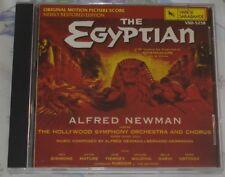 THE EGYPTIAN (Alfred Newman & Bernard Herrmann) original mint cd (1990)  OOP!