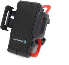 Bike Phone Holder Mount Adjustable Clamp Grip for Handlebar Secure 360° Rotation