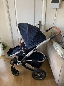 Joolz Geo2 Navy blue from birth pram carrycot pushchair stroller