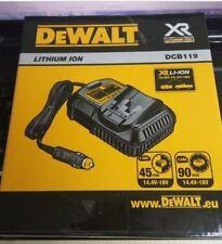 DEWALT DCB119 XR Universal Car Charger 10.8, 14.4 & 18  20 Volt Li-Ion  NEW