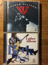 Luther Allison Soul Fixin' Man & Reckless CDs Lot Of 2 Blues CD Tested Free Ship