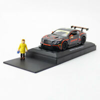 1:43 Bentley Continental GT3 V8 Racing Model Car Diecast Toy Vehicle Pull Back