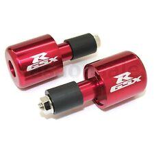 RED Suzuki Bar Ends GSXR 600 750 1000 1100 TL1000S Motorcycle Weight Slugger