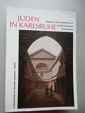 Juden in Karlsruhe Beiträge Geschichte nationalsozialistischen Machtergreifung