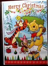 "H11) Carte Disney ""Merry Christmas"" Winnie l'ourson (sapin)+ enveloppe - Neuf"