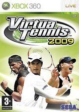 Virtua Tennis 2009 (Microsoft Xbox 360, 2009)