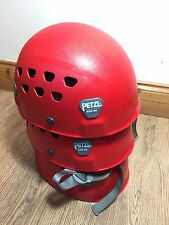 Petzl Ecrin-Roc Safety Red Helmet. Rock Climbing Mountaineering Caving Rigging