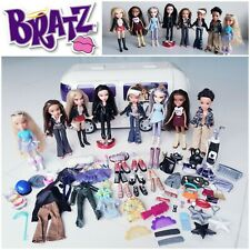 Bratz Bundle Joblot - 8 Bratz MGA Dolls 2001-03 Diamondz Tour Bus & Accessories