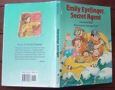Emily Eyefinger Secret Agent By Duncan Ball 1993 HBDJ first printing *Signed