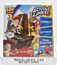 Toy Story 3 Action Links Jessie To The Rescue Stunt Set 2009 MISB Disney Pixar