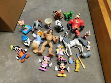 Disney Lion King Toy Story Mickey Minnie Donald PVC Figures BIG Lot Cake Toppers