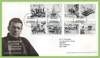 G.B. 2016 Shackleton set on Royal Mail First Day Cover, Tallents House