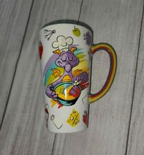 2020 Epcot Food & Wine Festival Disney Figment Ceramic Coffee Latte Mug Cup